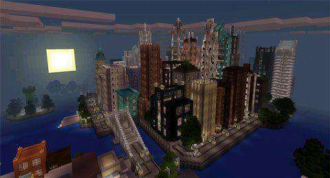Mine York City Creation Survival Map For Minecraft Pe 0 12 1