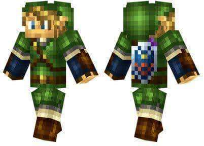 Link Skin For Minecraft PE MCPE Box - Skins para minecraft zelda