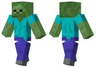 Zombie Skin For Minecraft PE MCPE Box - Zombey skin fur minecraft pe