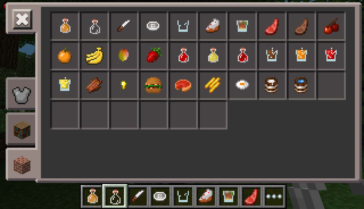 How to eat food in minecraft pe 1 0 4 mcpe box for Mine craft pocket addition