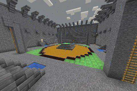Arenas Del PvP Map For Minecraft PE