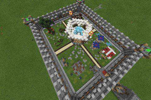 [PvP]-3 Arenas Map For Minecraft PE
