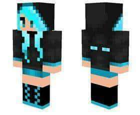 Cute Ender Girl skin for Minecraft PE