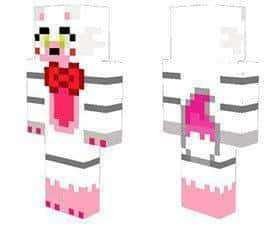 The Mangle The Fox skin for Minecraft PE
