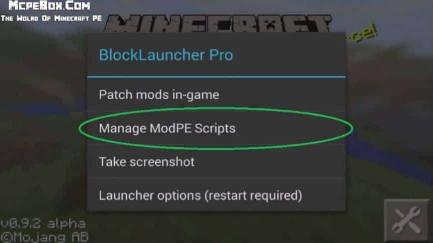 How to install mods on Minecraft PE for Android