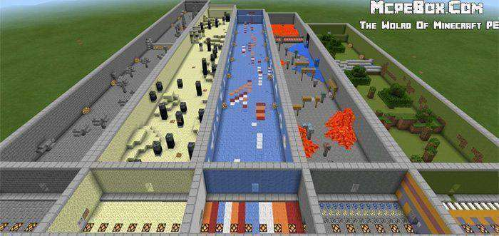 Penta Parkour Map for Minecraft PE on