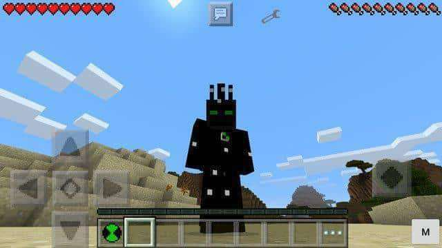 Ben Mod For Minecraft PE MCPE Box - Skins para minecraft pe ben 10