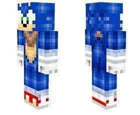 Sonic Boom skin for Minecraft PE