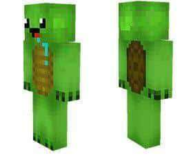 Cute Turtle skin for Minecraft PE