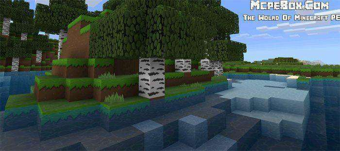 LoKiCraft PureCartoon [128×128] Texture Pack for MCPE