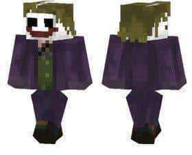 The Joker skin for Minecraft PE