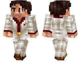 Tony Montana skin for Minecraft PE