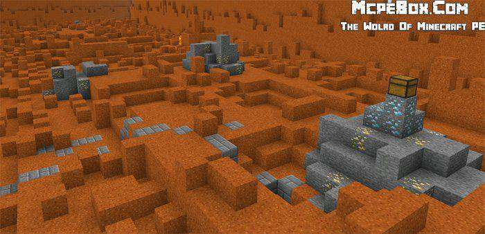 Hunger Games Mars | PvP Map for MCPE 0.15.0/0.14.0 1.2.0.7 | MCPE Box