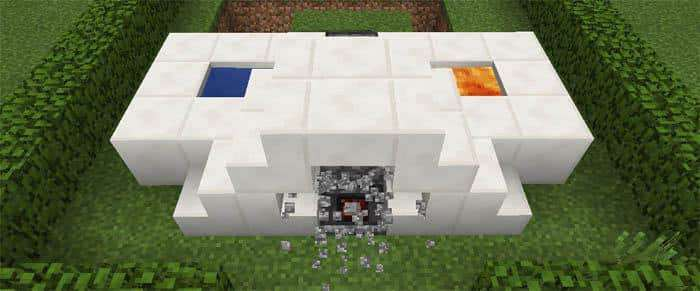 5 Useful Observer Creations map for Minecraft PE