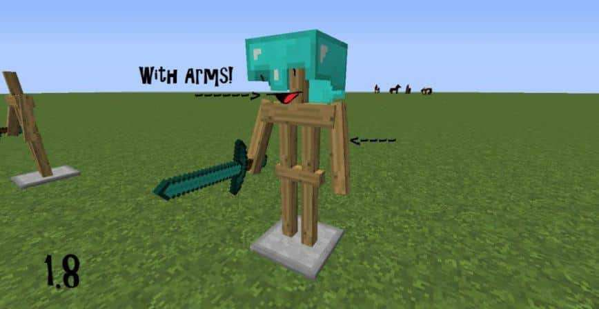 How To Craft An Armor Stand Minecraft Pe