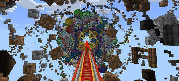 Win10Coaster map for Minecraft PE