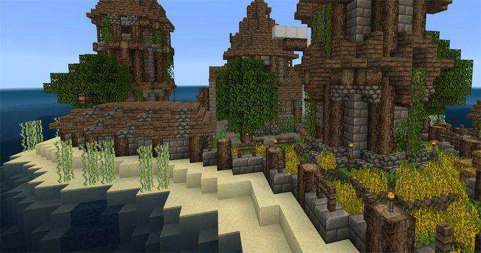 Beyond the Lands [16×16] Texture Pack for Minecraft PE 1 2 0 7