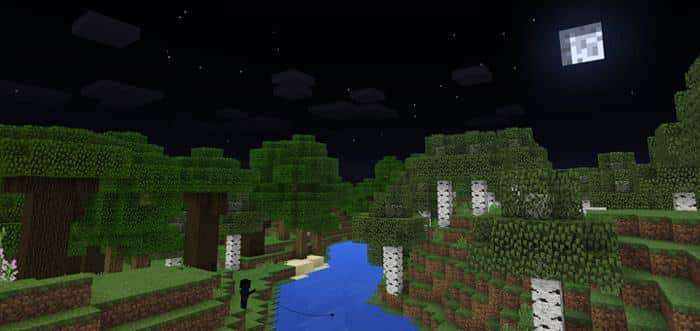 Night Vision Shader Texture Pack for Minecraft PE