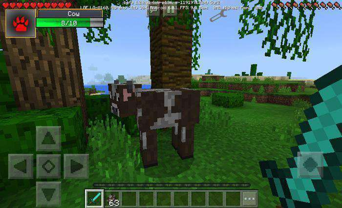 Damage Indicator Mod (Android) for Minecraft PE
