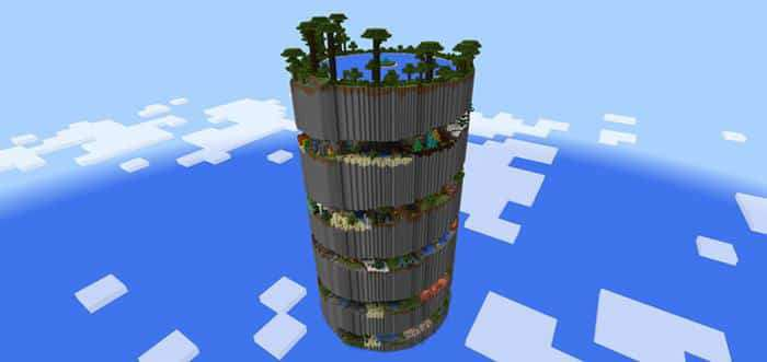minecraft parkour spiral map