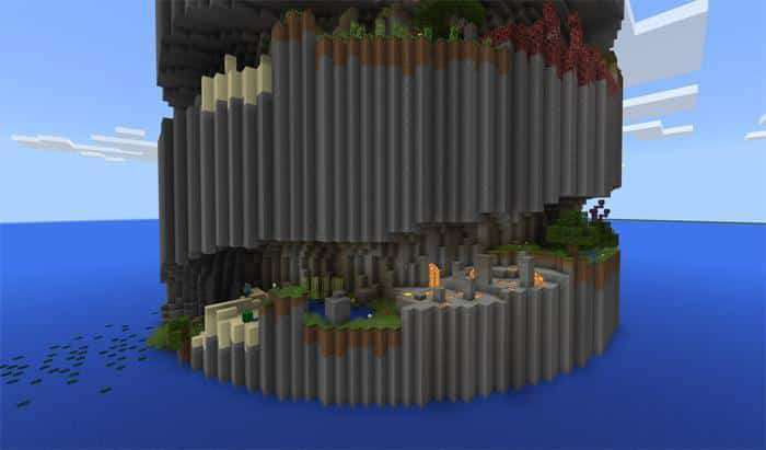 Parkour Spiral [Parkour] (1 2 Only) Map for Minecraft PE 1 2