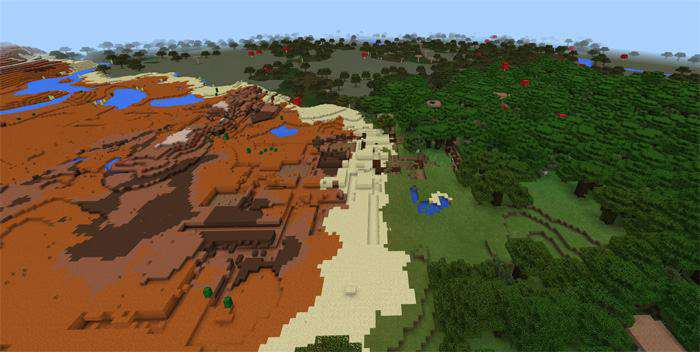 how to find a mineshaft in minecraft pe