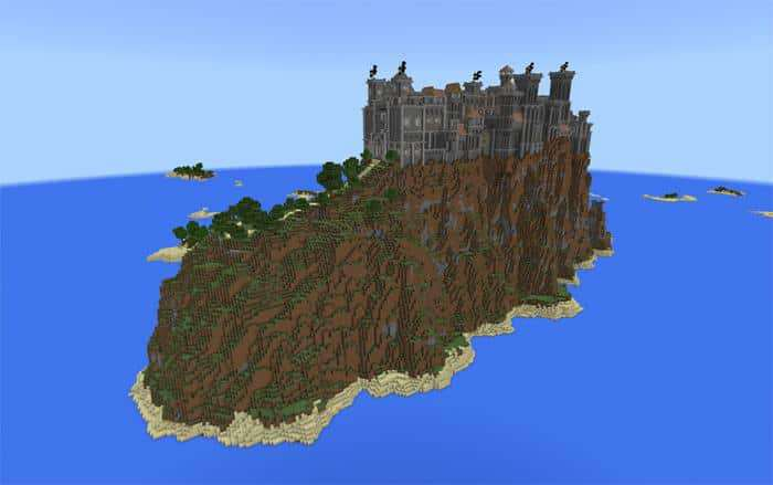 castle maps for Minecraft Bedrock Edition