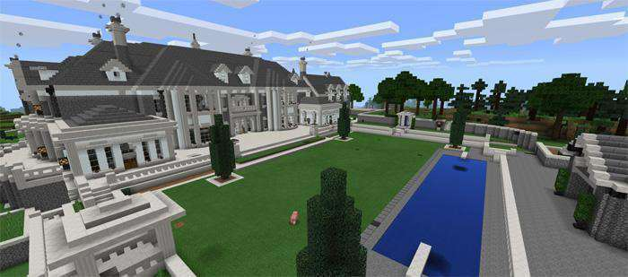 The Alpine Mansion [Creation] Map for Minecraft PE 1 2 0 7