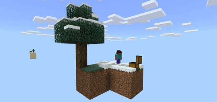 SkyBlock [Survival] Map for Minecraft PE