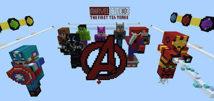 Avengers: Infinity War Special (Burn It) [Minigame] Map for
