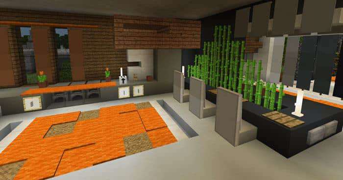 redstone house maps for Minecraft Bedrock Edition
