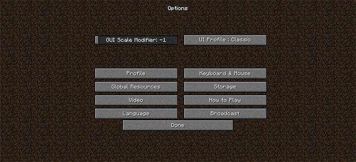 UIPack Classic Resource Pack