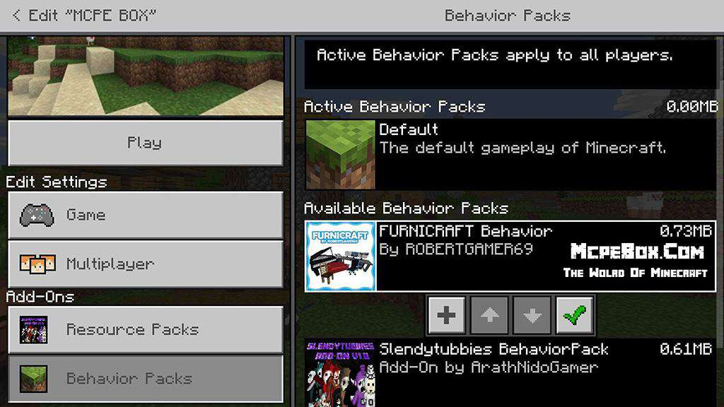 BEHAVIOR PACKS