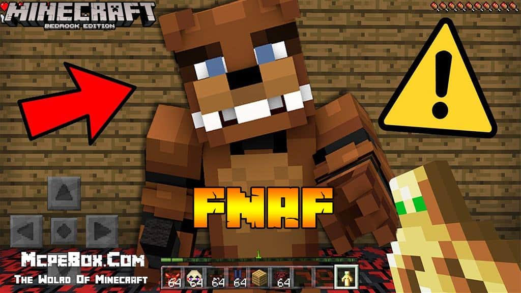 FNAF Mod for Minecraft PE