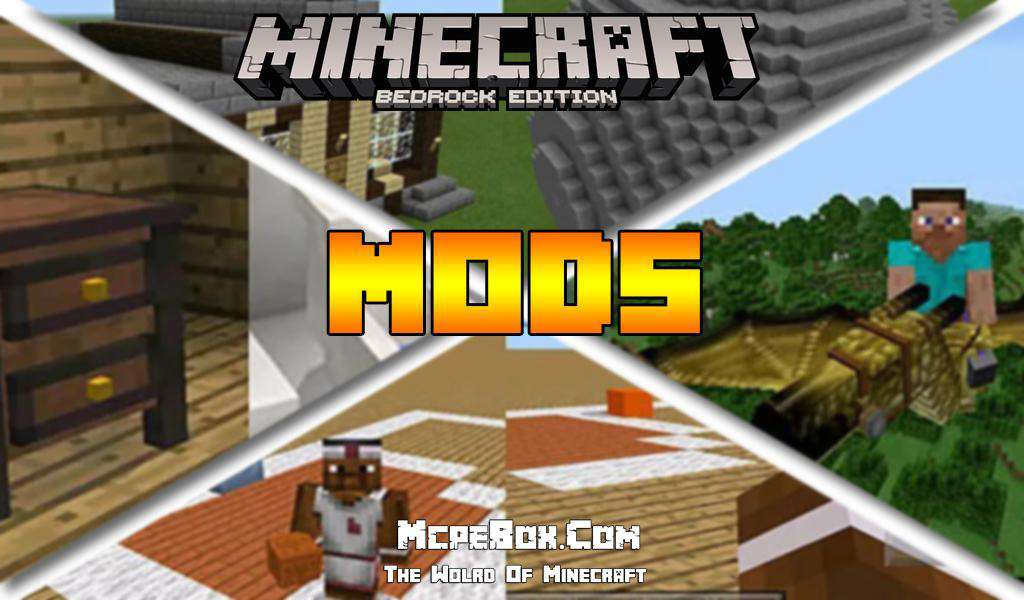 Mods for Minecraft PE Bedrock Edition