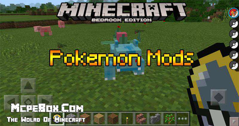 Pokemon Mods for Minecraft PE