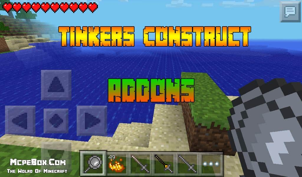 MCPE Tinkers Construct Addons