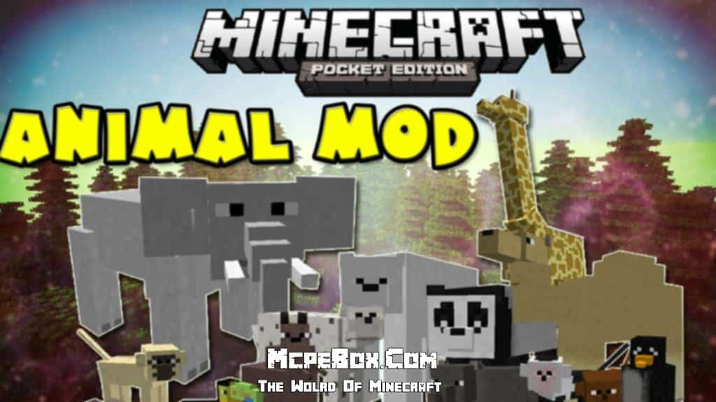 Animal mods for Minecraft PE