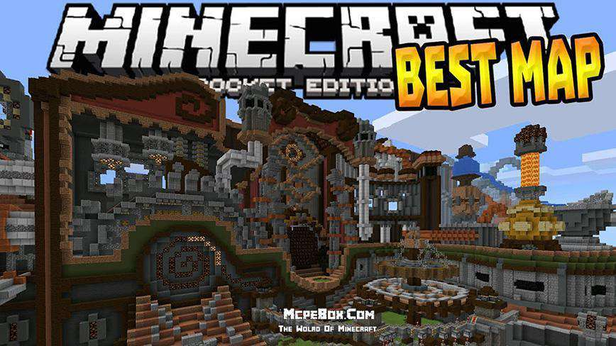 Best Maps for Minecraft PE Download Free