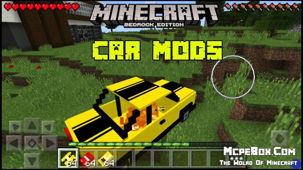 Car mods for minecraft pe