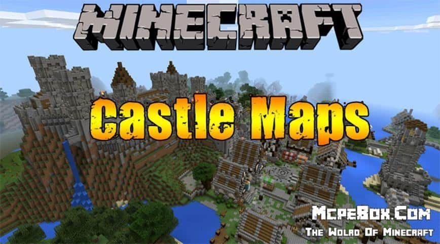 Castle Minecraft PE Maps