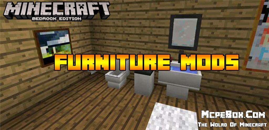 Furniture Mod for Minecraft PE