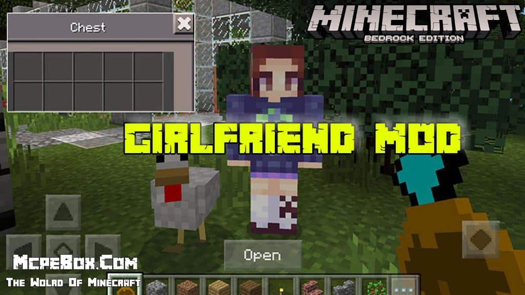 Girlfriend Mods for Minecraft PE