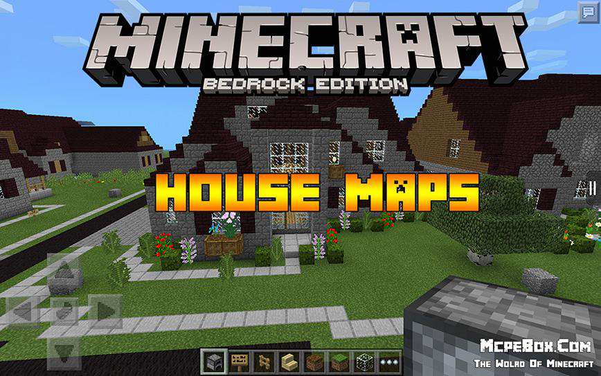 House Maps for Minecraft PE for Free
