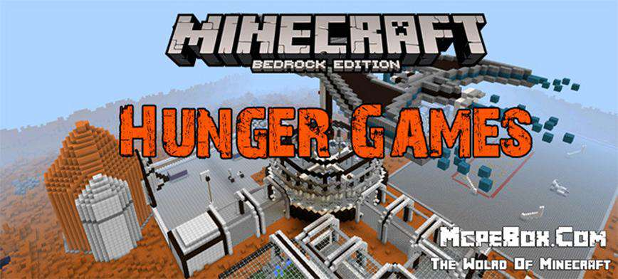 Hunger Games Maps Minecraft PE