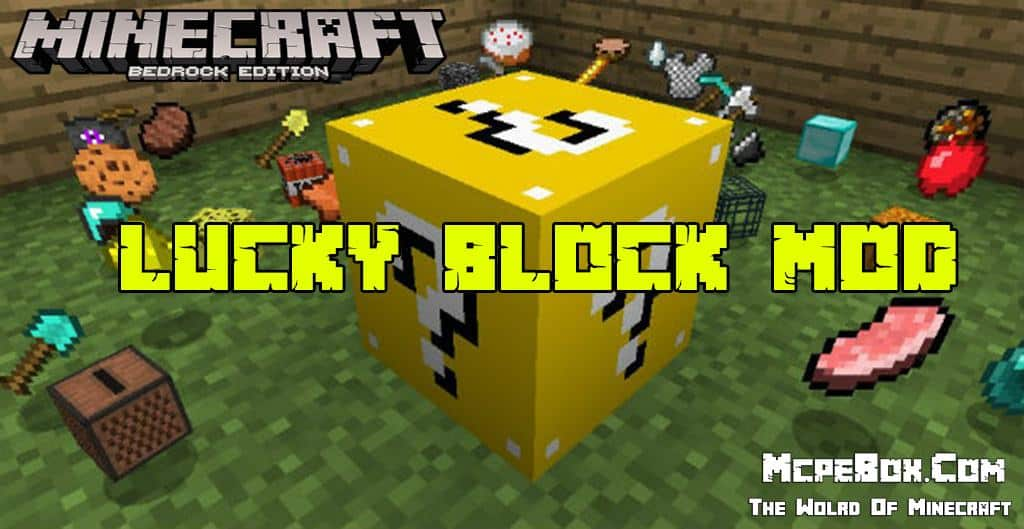 Lucky Block Mods for Minecraft PE