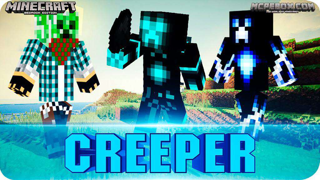 Creeper Skins for MCPE