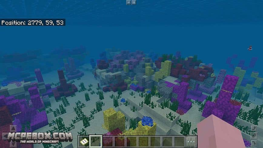 Chain of Survival Islands with Coral Reef, Shipwrecks, Ruins, & More