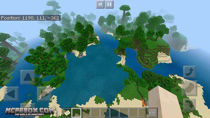 Jungle Survival Island Minecraft Bedrock Edition