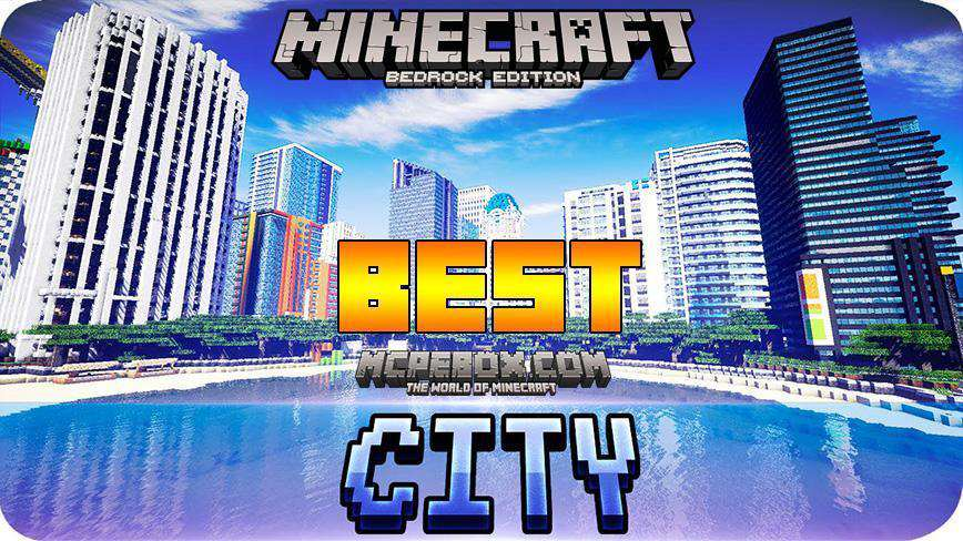Best Minecraft PE Seeds City